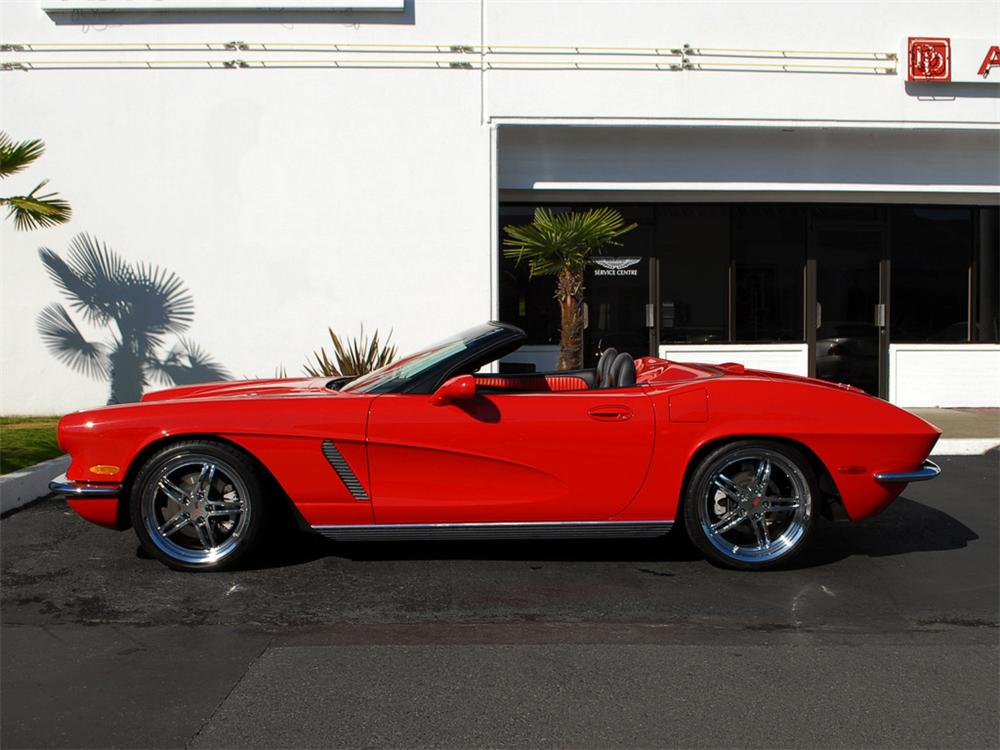2004 CHEVROLET CORVETTE CUSTOM CONVERTIBLE - Side Profile - 125359