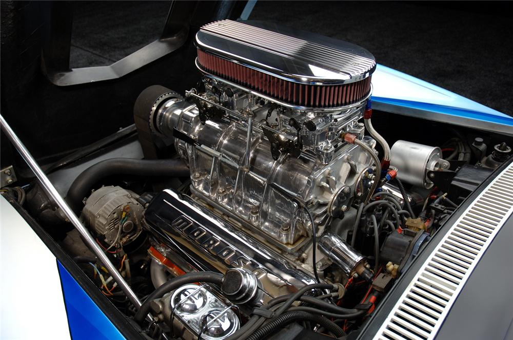 1969 CHEVROLET CORVETTE CONVERTIBLE - Engine - 125533
