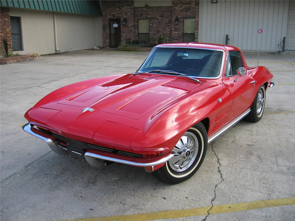 1964 CHEVROLET CORVETTE 2 DOOR COUPE - Front 3/4 - 125534