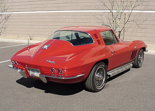 1965 CHEVROLET CORVETTE COUPE - Rear 3/4 - 125535