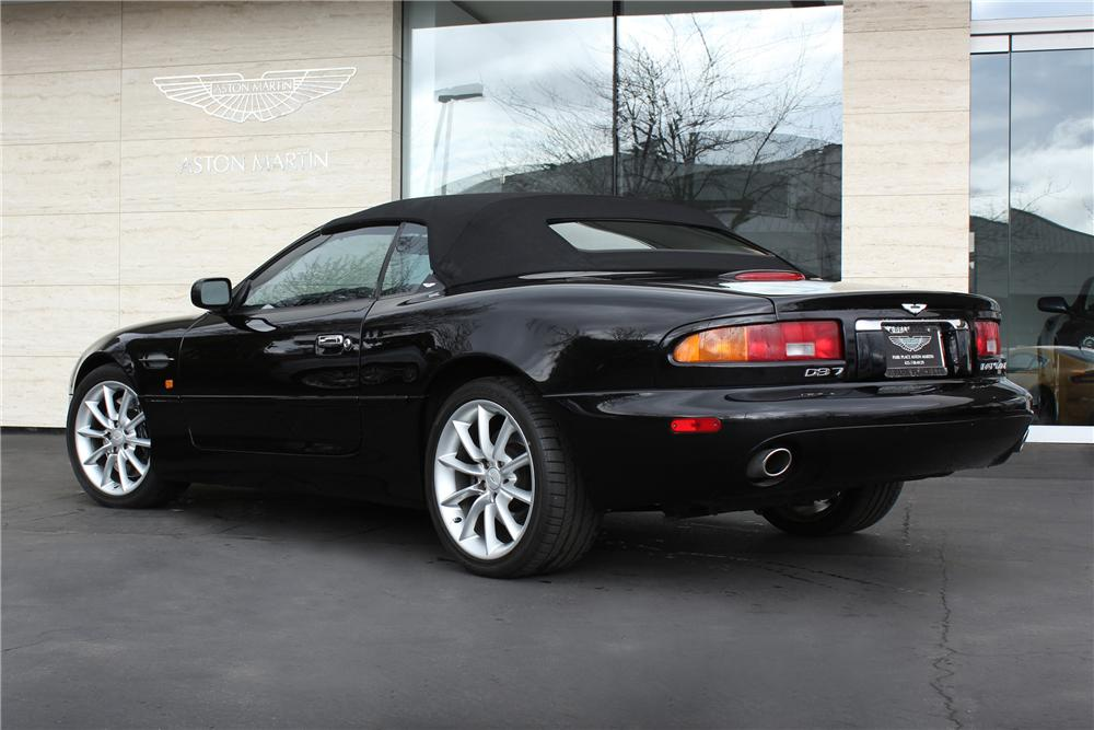 2002 ASTON MARTIN DB 7 VOLANTE CONVERTIBLE - Rear 3/4 - 125540
