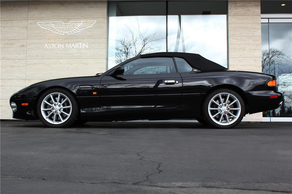 2002 ASTON MARTIN DB 7 VOLANTE CONVERTIBLE - Side Profile - 125540