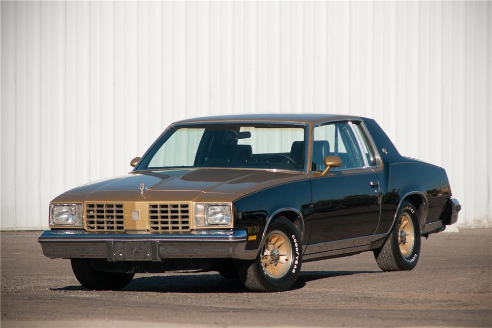 1979 OLDSMOBILE CUTLASS HURST COUPE - Front 3/4 - 125541