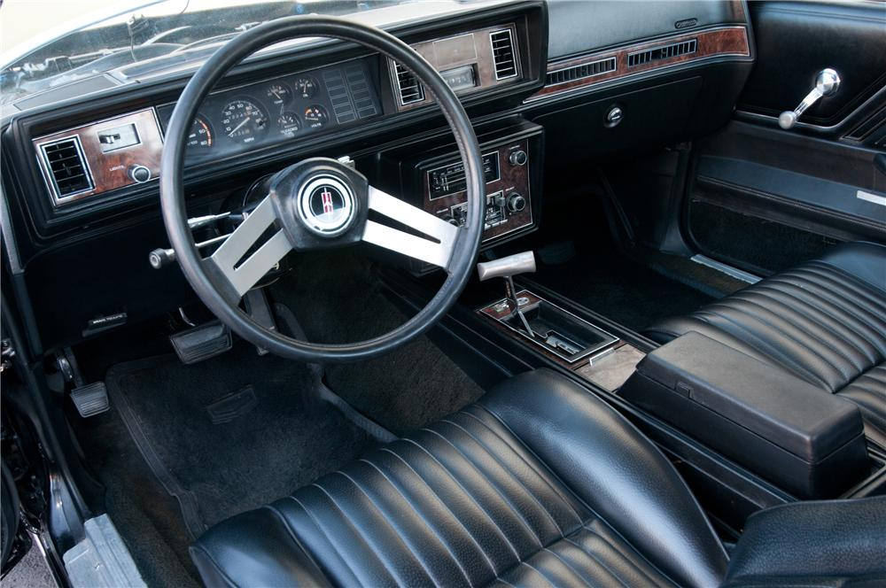 1979 OLDSMOBILE CUTLASS HURST COUPE - Interior - 125541