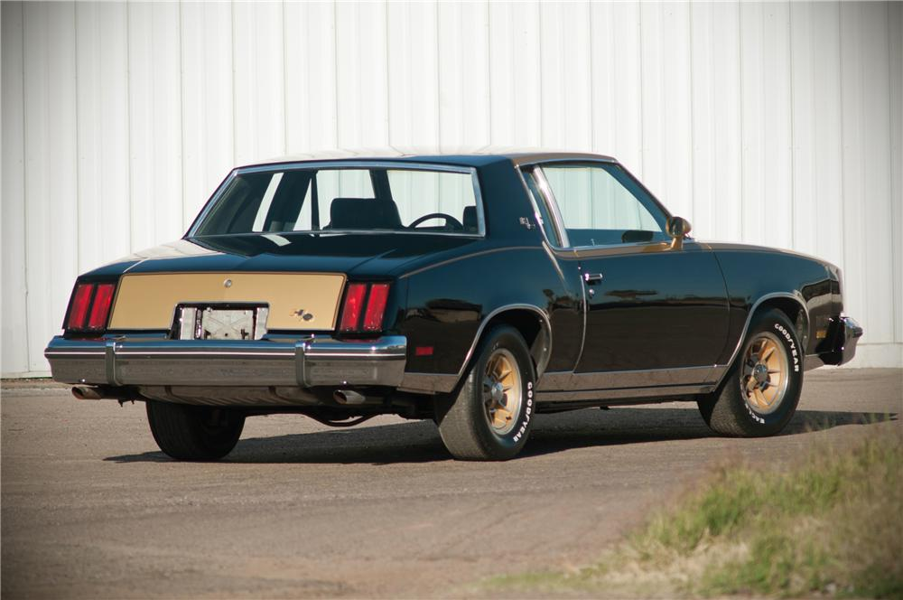 1979 OLDSMOBILE CUTLASS HURST COUPE - Rear 3/4 - 125541