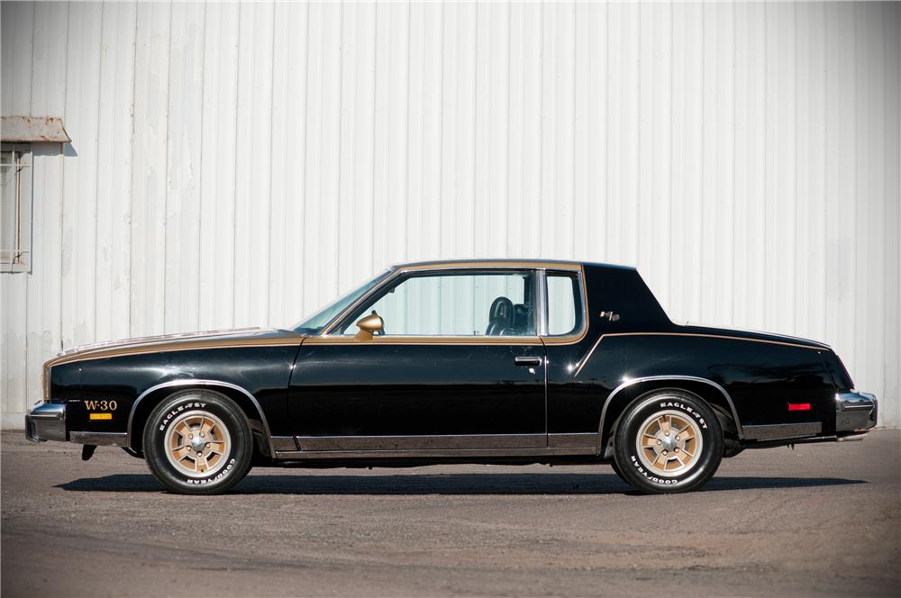 1979 OLDSMOBILE CUTLASS HURST COUPE - Side Profile - 125541