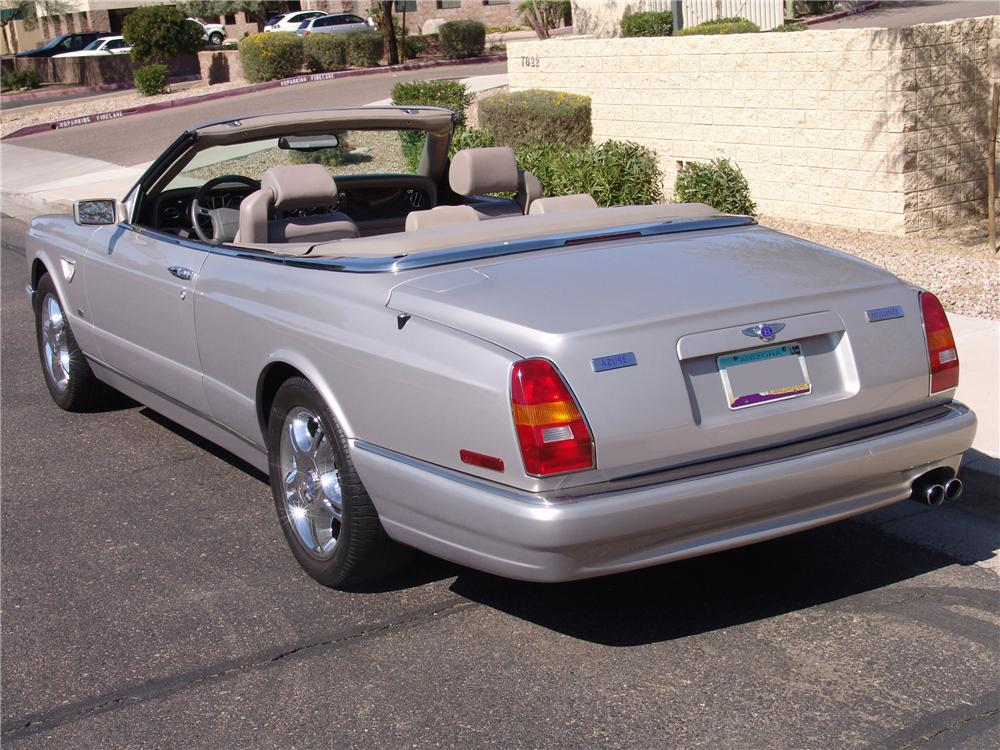 2003 BENTLEY AZURE CONVERTIBLE - Rear 3/4 - 125545