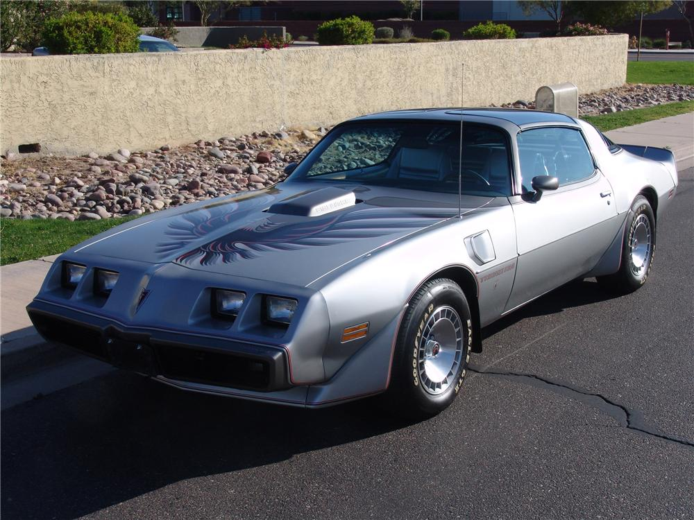 1979 PONTIAC FIREBIRD TRANS AM 10TH ANNIVERSARY COUPE - Front 3/4 - 125547