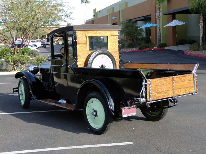 1928 DODGE PICKUP - Rear 3/4 - 125548