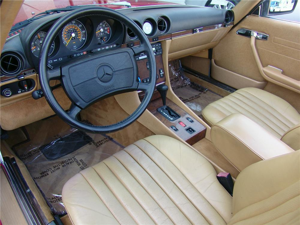 1989 mercedes benz 560sl convertible 125665. Black Bedroom Furniture Sets. Home Design Ideas
