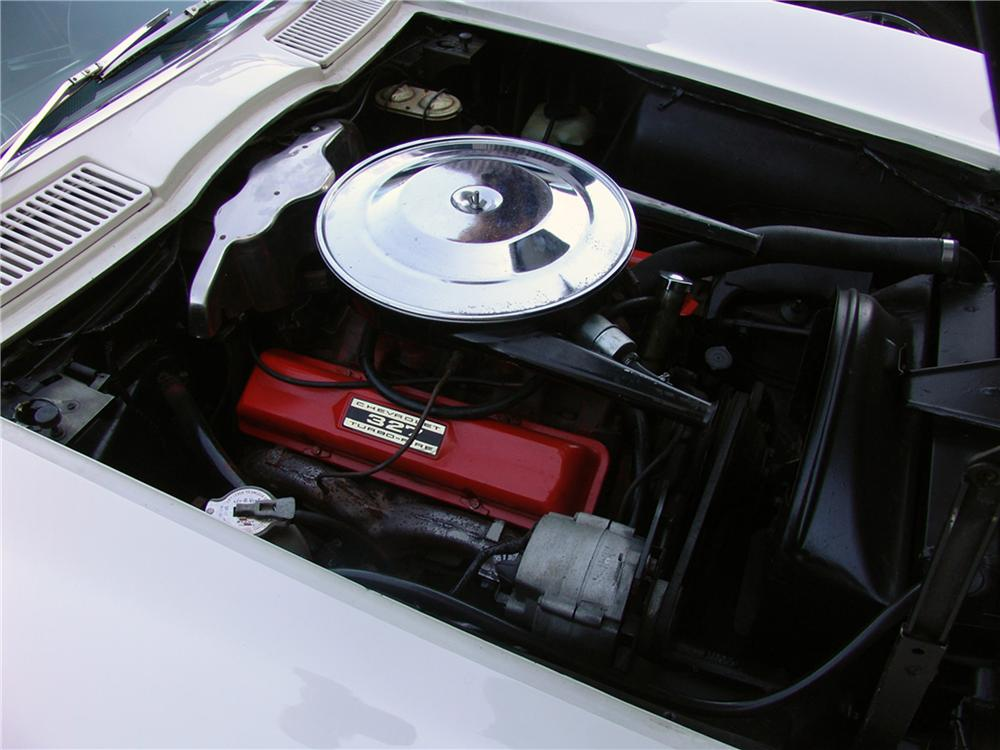 1965 CHEVROLET CORVETTE CONVERTIBLE - Engine - 125666