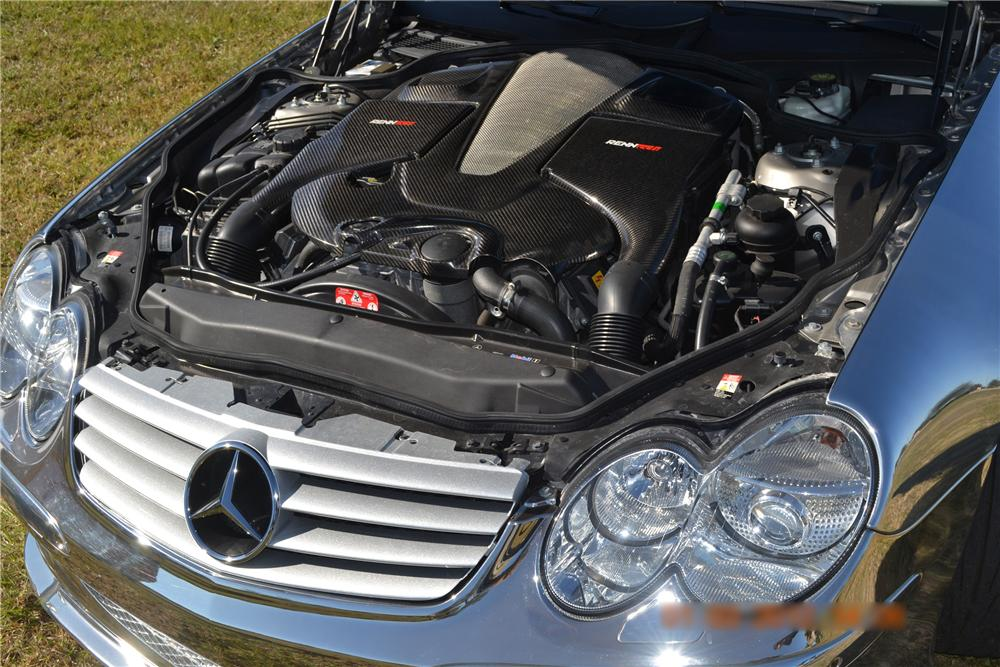 2004 MERCEDES-BENZ SL600 CONVERTIBLE - Engine - 125669