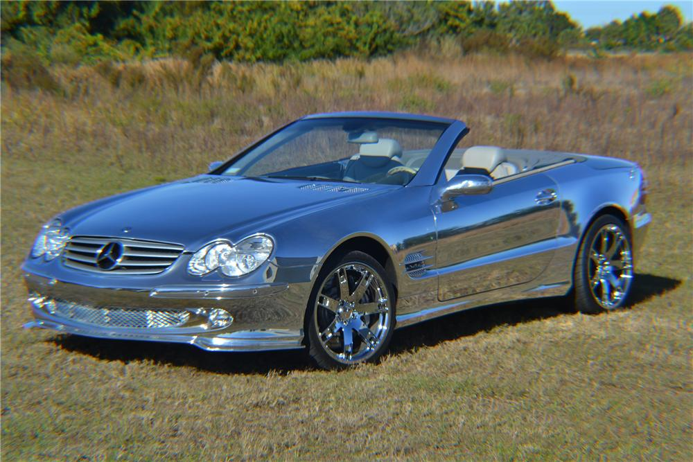 2004 MERCEDES-BENZ SL600 CONVERTIBLE - Front 3/4 - 125669