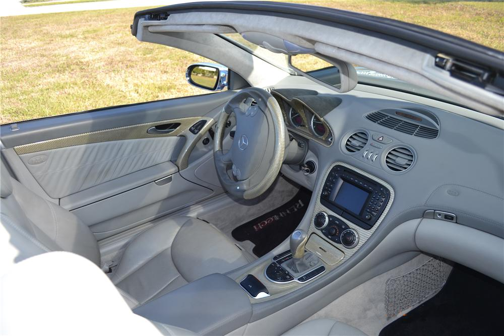 2004 MERCEDES-BENZ SL600 CONVERTIBLE - Interior - 125669