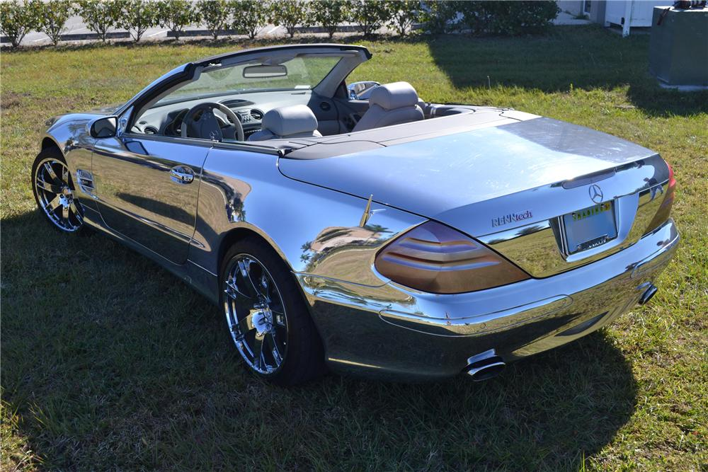 2004 MERCEDES-BENZ SL600 CONVERTIBLE - Rear 3/4 - 125669
