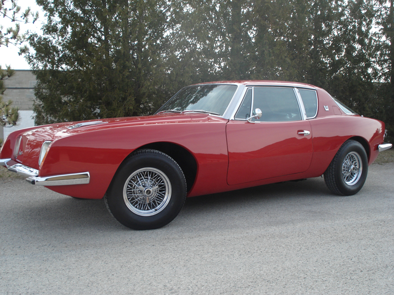 1963 STUDEBAKER AVANTI 2 DOOR COUPE - Side Profile - 125678