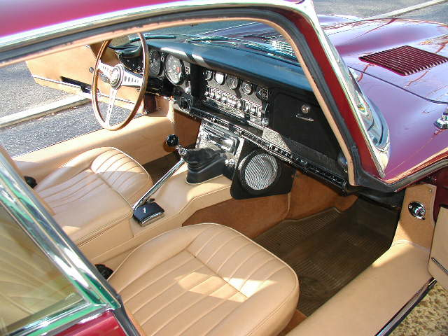 1969 JAGUAR XKE 2 DOOR COUPE - Interior - 125681