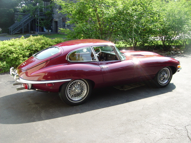 1969 JAGUAR XKE 2 DOOR COUPE - Side Profile - 125681