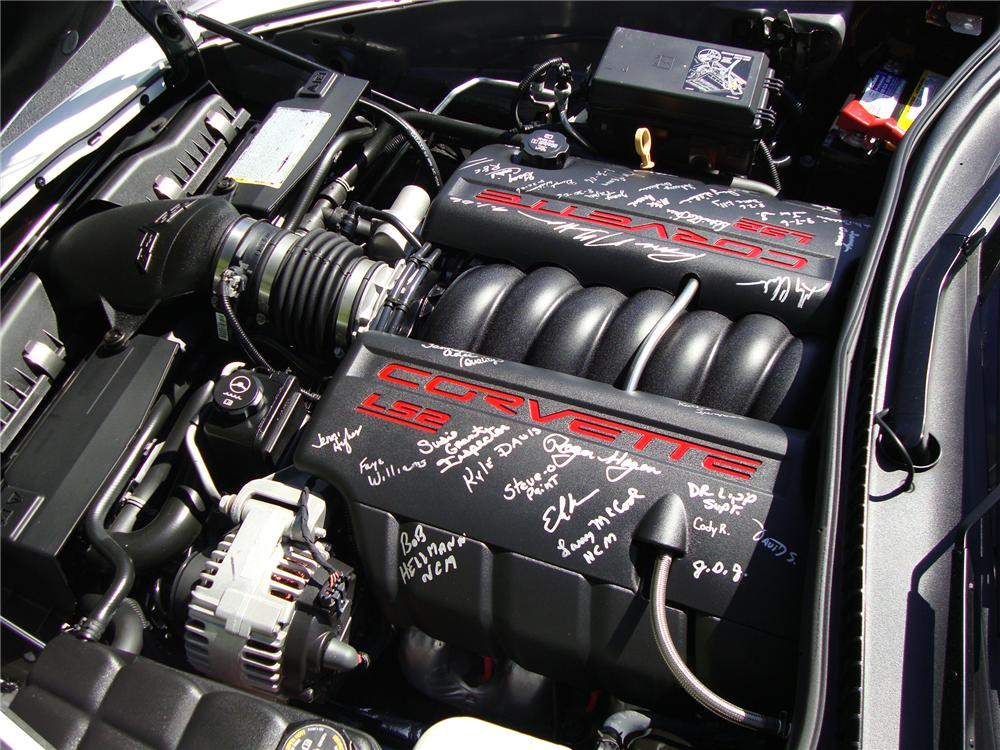 2007 CHEVROLET CORVETTE CONVERTIBLE - Engine - 125685