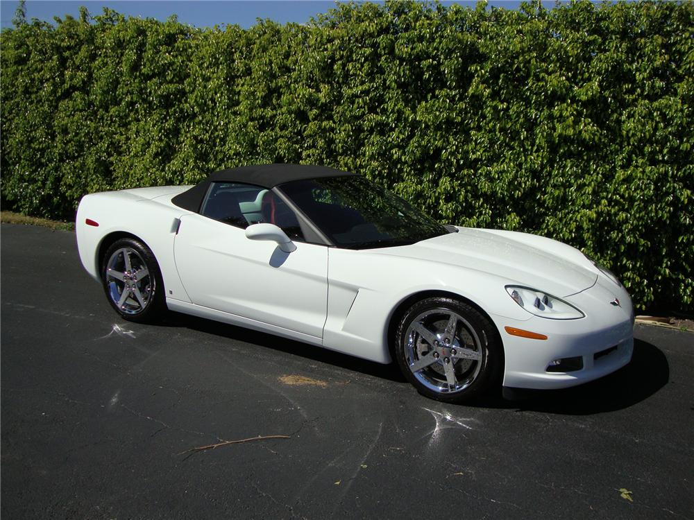 2007 CHEVROLET CORVETTE CONVERTIBLE - Side Profile - 125685