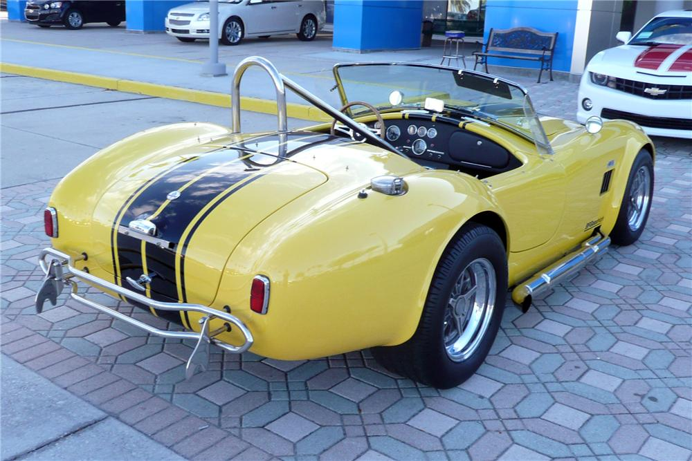 1966 SHELBY COBRA RE-CREATION ROADSTER - Rear 3/4 - 125689