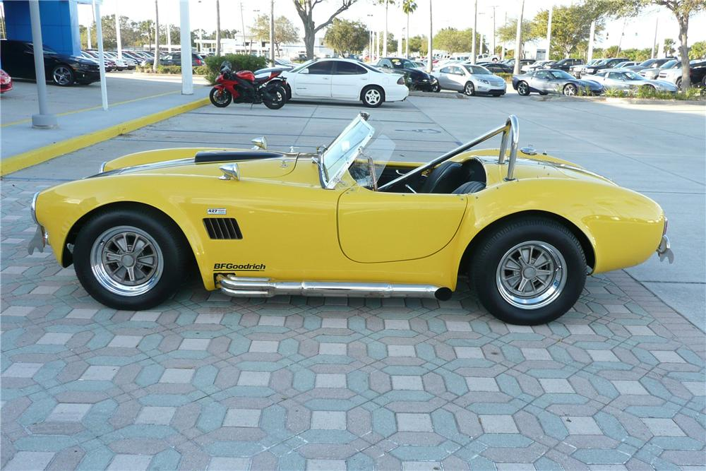 1966 SHELBY COBRA RE-CREATION ROADSTER - Side Profile - 125689