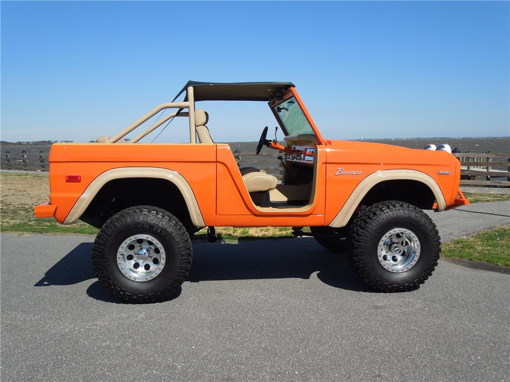 New Ford Bronco >> 1970 FORD BRONCO CUSTOM SUV - 125690