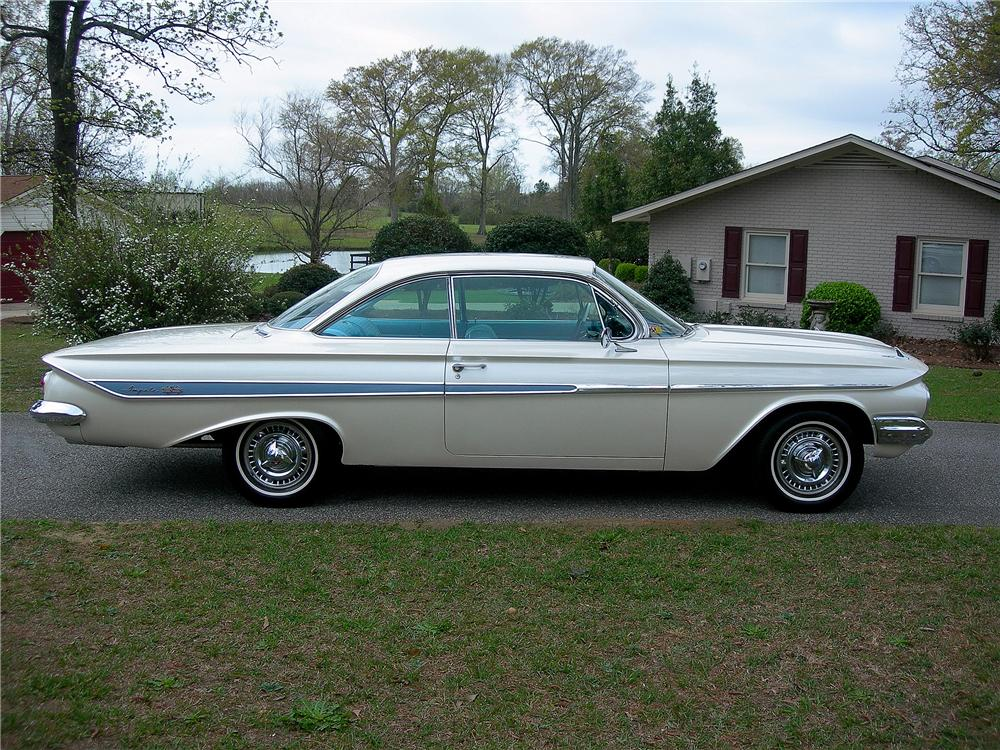 1961 chevrolet impala custom 2 door hardtop 125691 for Photographs for sale online