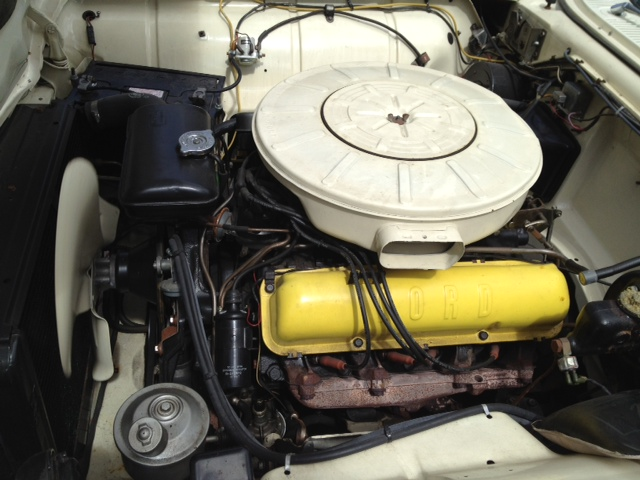 1960 FORD THUNDERBIRD CONVERTIBLE - Engine - 125697