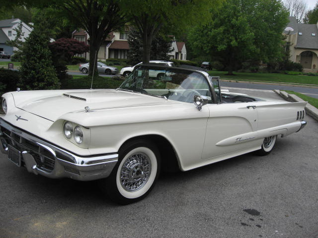 1960 FORD THUNDERBIRD CONVERTIBLE - Front 3/4 - 125697