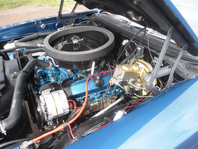 1970 OLDSMOBILE CUTLASS 442 CONVERTIBLE - Engine - 125706