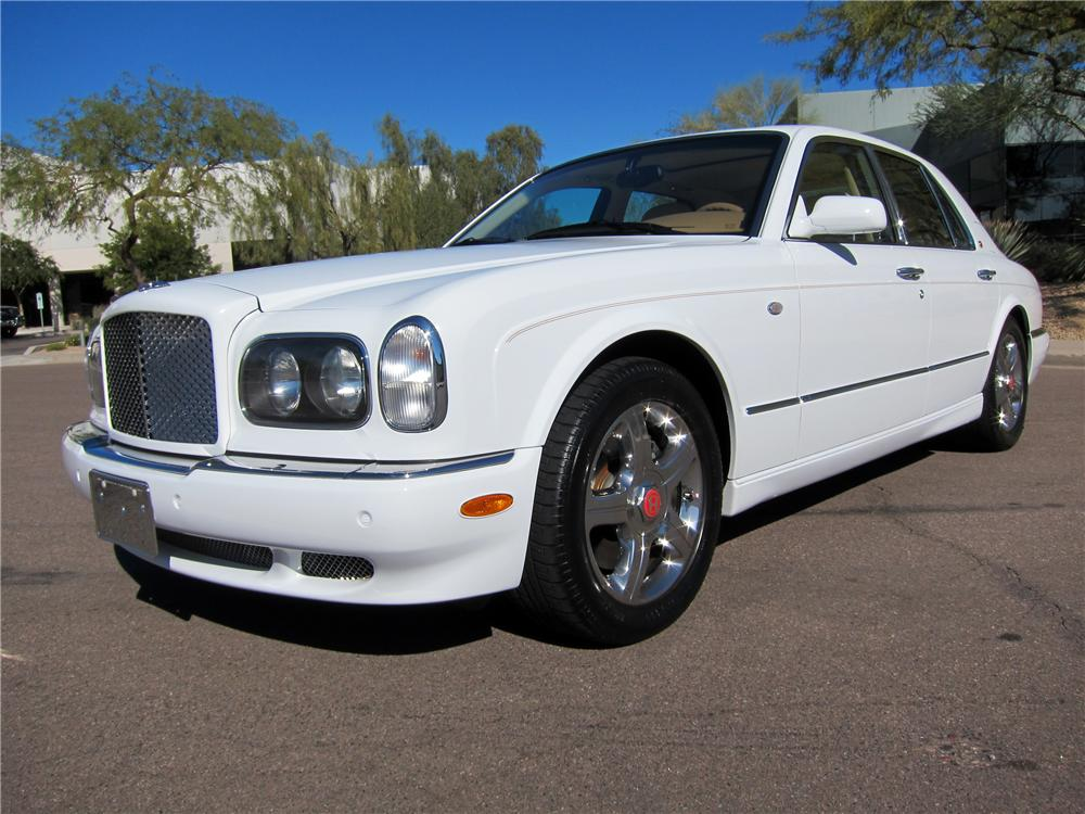 2001 bentley arnage red label turbo 4 door sedan 125707. Black Bedroom Furniture Sets. Home Design Ideas