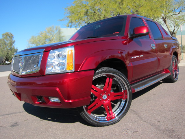 2004 CADILLAC ESCALADE EXT CUSTOM PICKUP - Front 3/4 - 125708