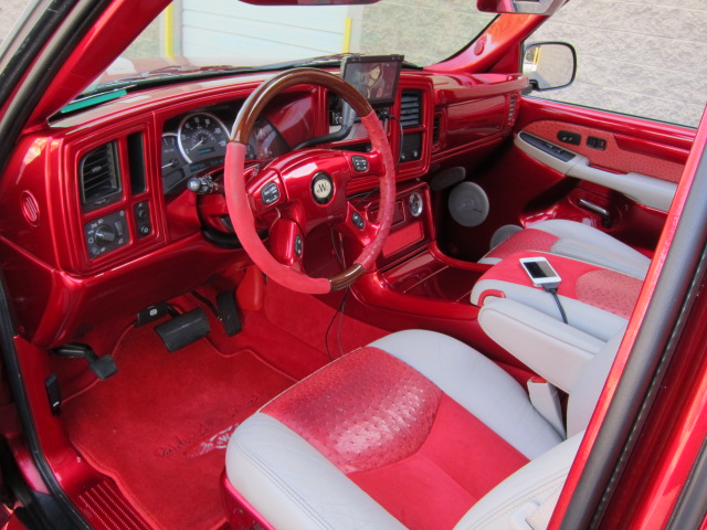 2004 CADILLAC ESCALADE EXT CUSTOM PICKUP - Interior - 125708