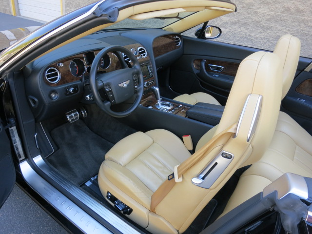 2007 BENTLEY CONTINENTAL GTC CONVERTIBLE - Interior - 125709