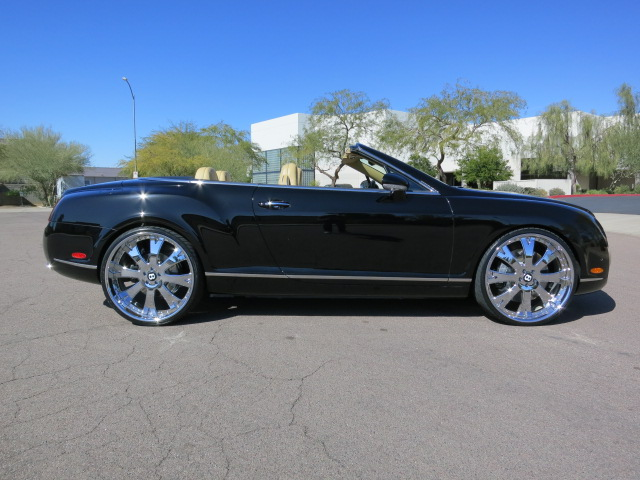 2007 BENTLEY CONTINENTAL GTC CONVERTIBLE - Side Profile - 125709