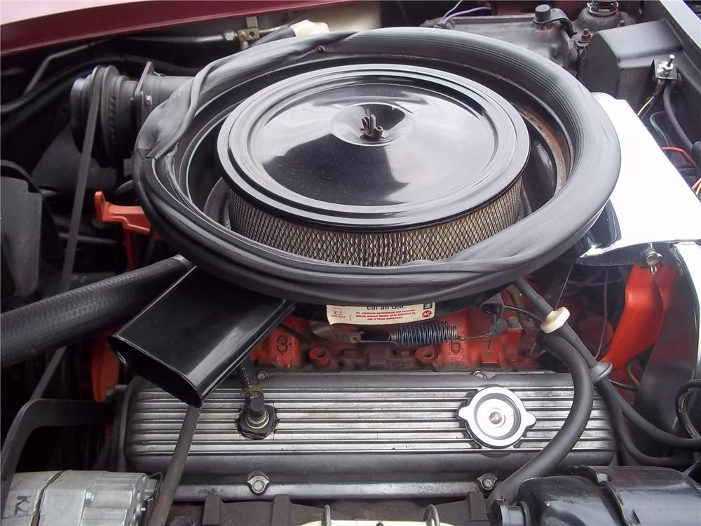 1975 CHEVROLET CORVETTE CONVERTIBLE - Engine - 125712
