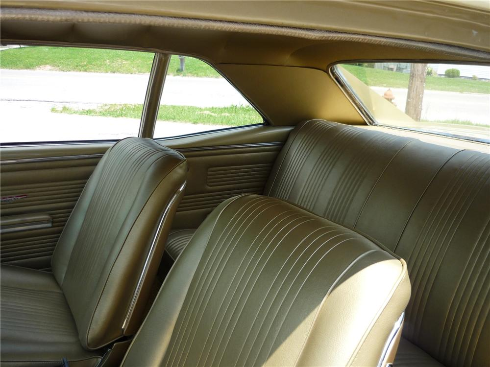 1967 PONTIAC GTO PILLAR COUPE - Interior - 125717