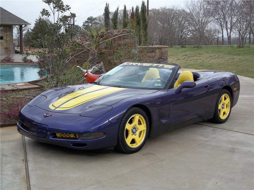 1998 CHEVROLET CORVETTE CONVERTIBLE - Front 3/4 - 125718