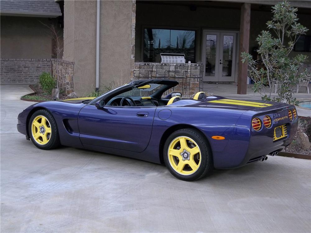 1998 CHEVROLET CORVETTE CONVERTIBLE - Rear 3/4 - 125718