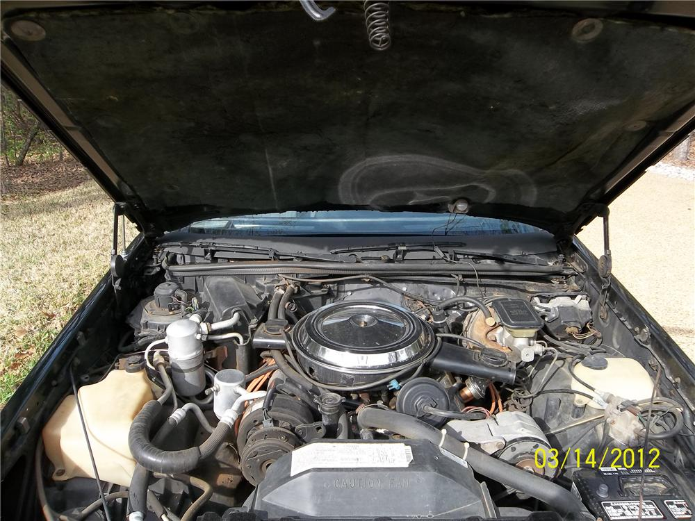1983 OLDSMOBILE HURST 2 DOOR COUPE - Engine - 125719