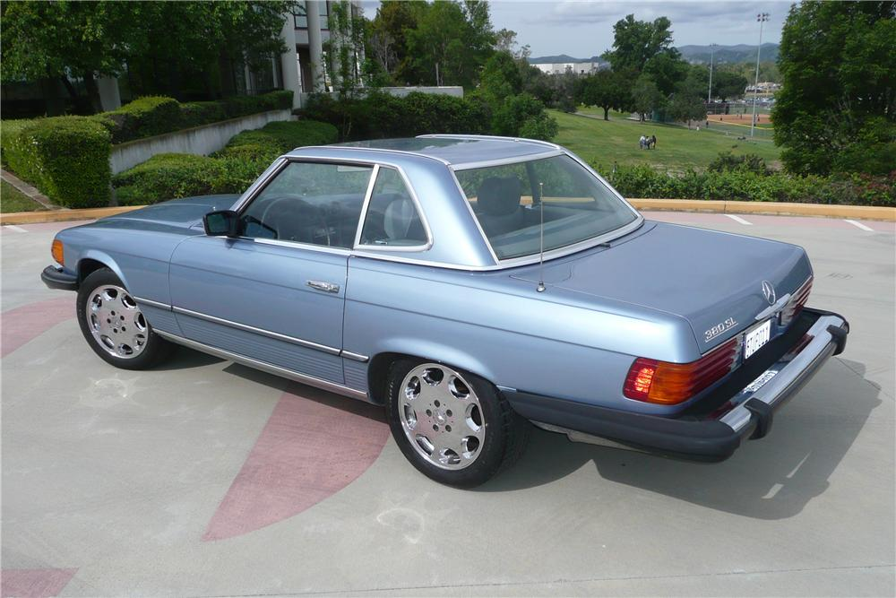 1983 MERCEDES-BENZ 380SL CONVERTIBLE - Side Profile - 125720