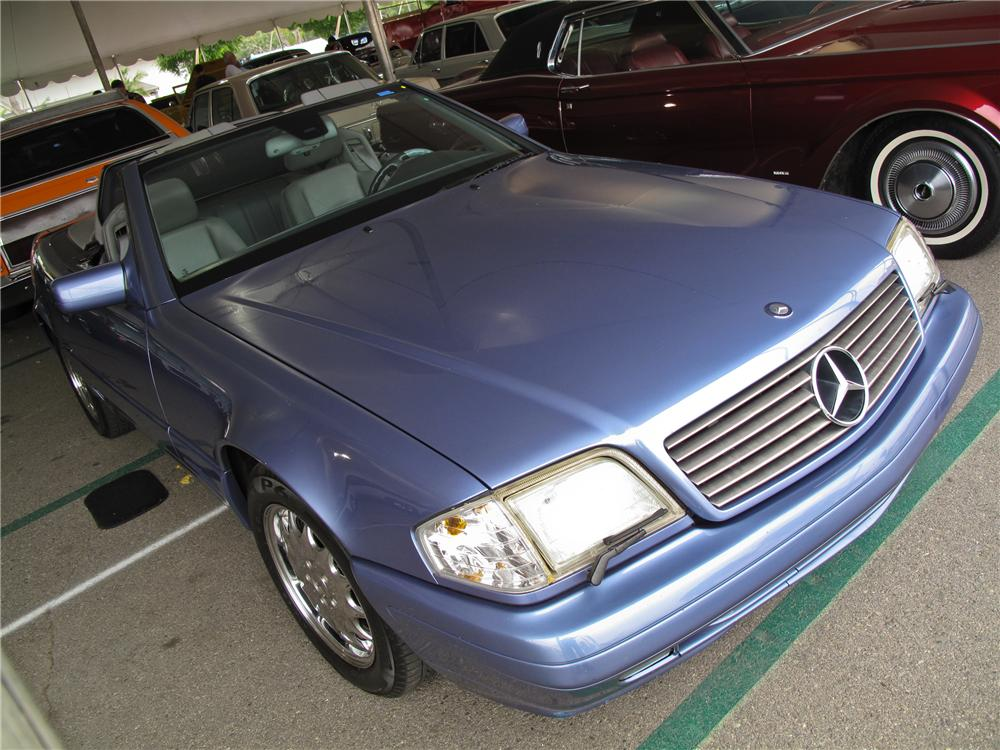 1997 MERCEDES-BENZ 320SL CONVERTIBLE - Front 3/4 - 125721
