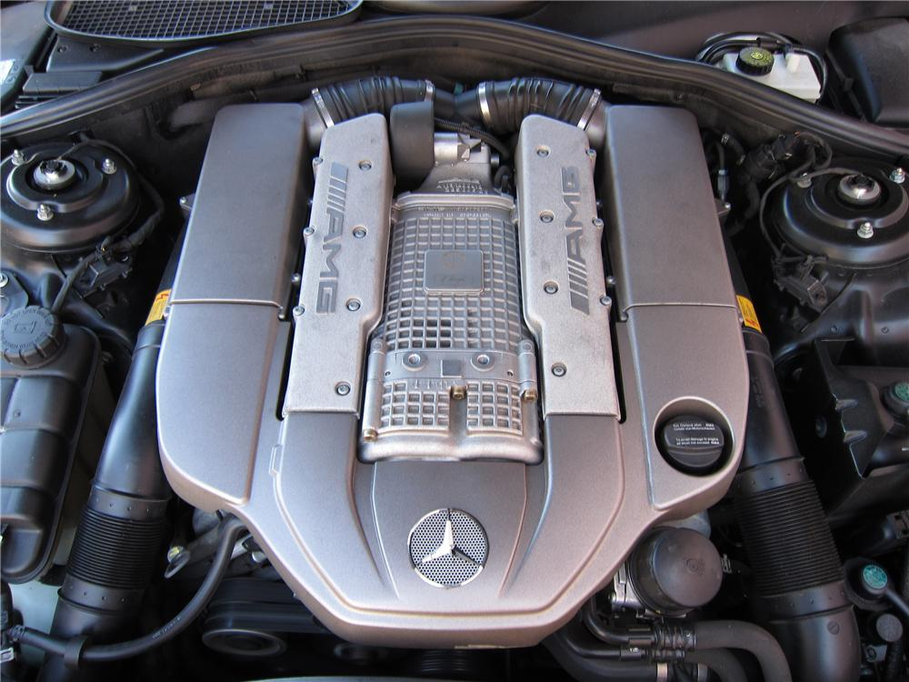 2004 MERCEDES-BENZ S55 AMG 4 DOOR SEDAN - Engine - 125732