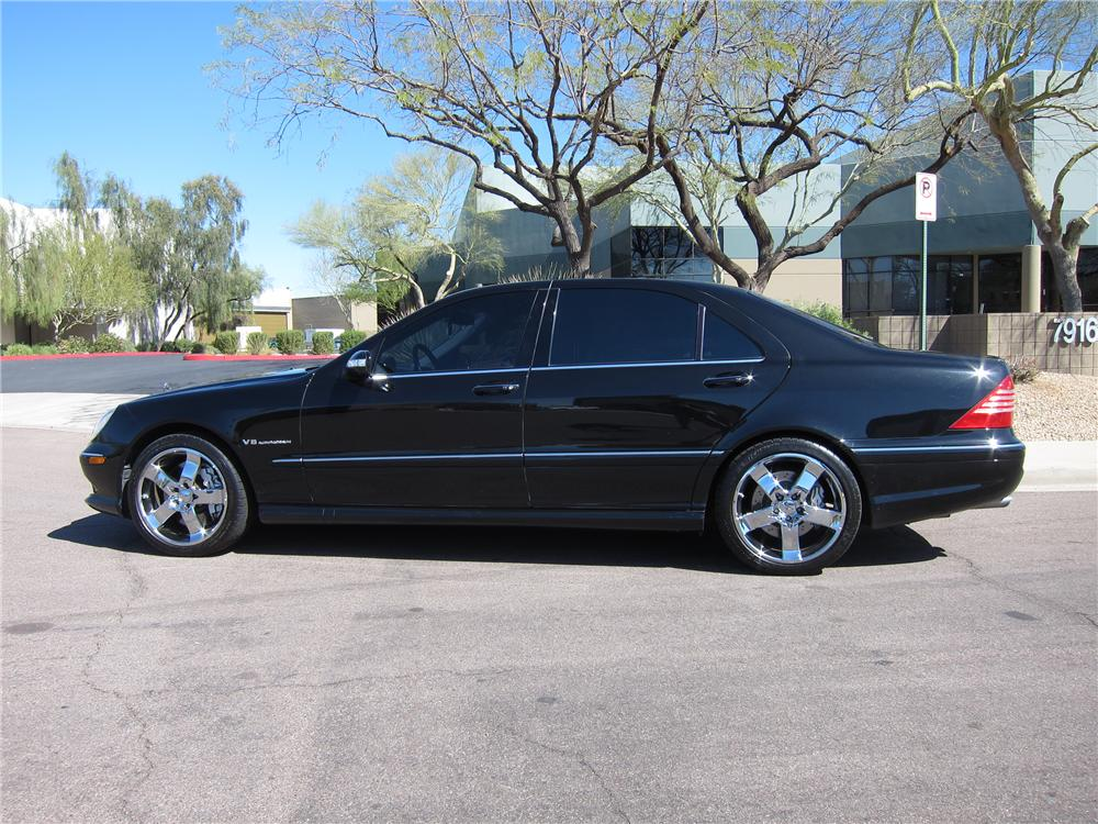 2004 MERCEDES-BENZ S55 AMG 4 DOOR SEDAN - Side Profile - 125732