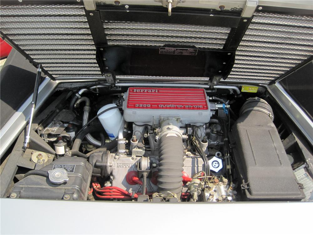 1988 FERRARI MONDIAL CONVERTIBLE - Engine - 125736