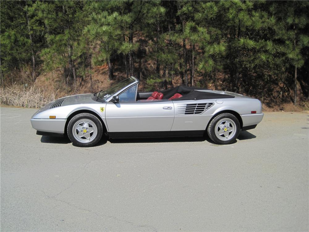 1988 FERRARI MONDIAL CONVERTIBLE - Side Profile - 125736