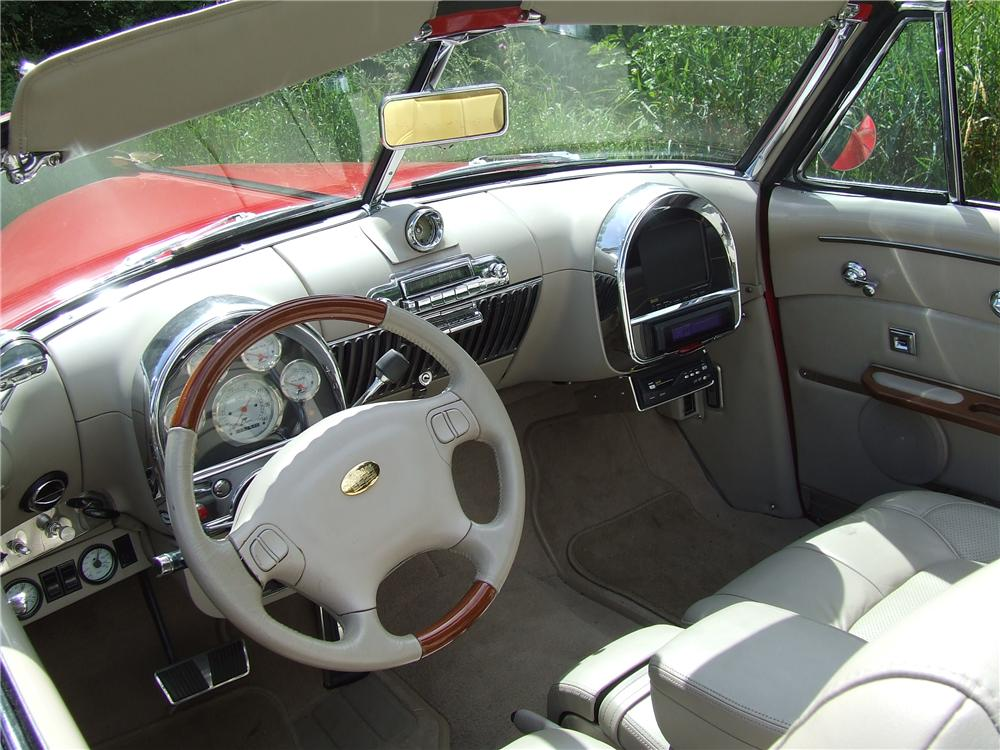 1948 CADILLAC SERIES 62 CUSTOM CONVERTIBLE - Interior - 125740