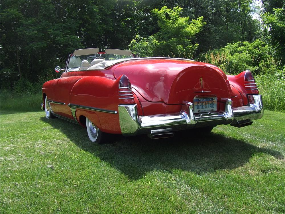 1948 CADILLAC SERIES 62 CUSTOM CONVERTIBLE - Rear 3/4 - 125740