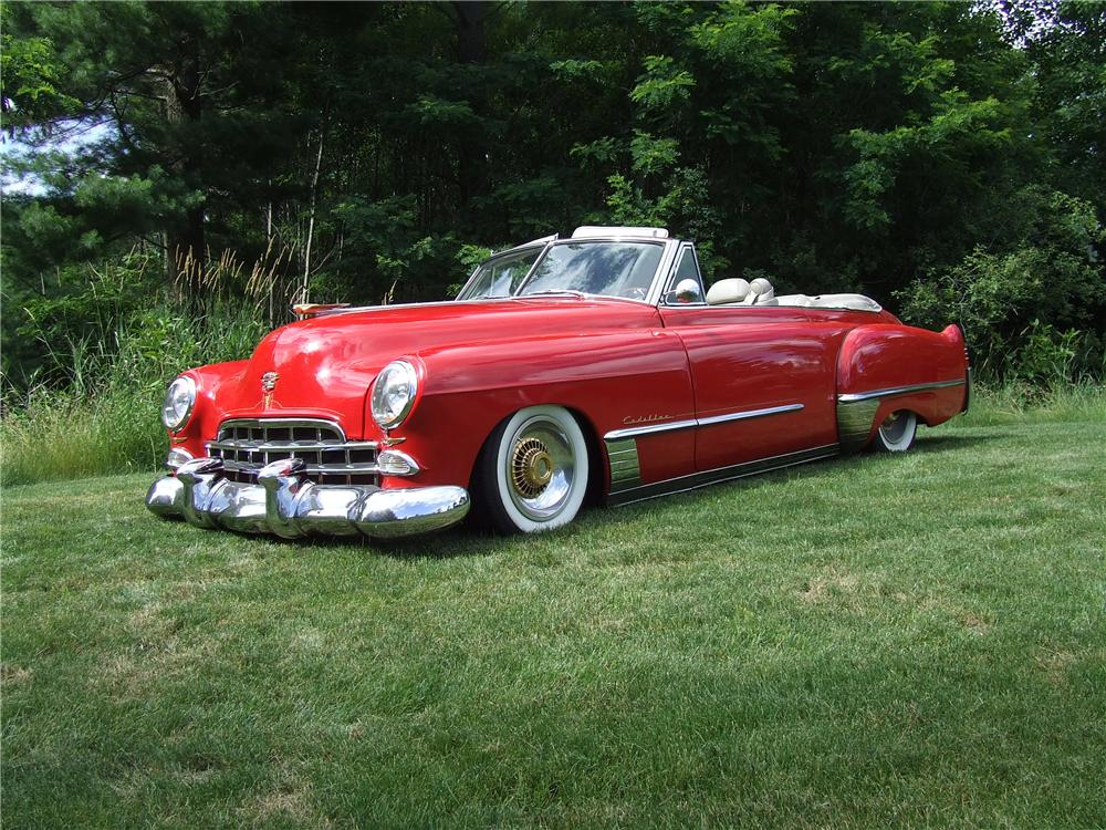 1948 CADILLAC SERIES 62 CUSTOM CONVERTIBLE - Side Profile - 125740